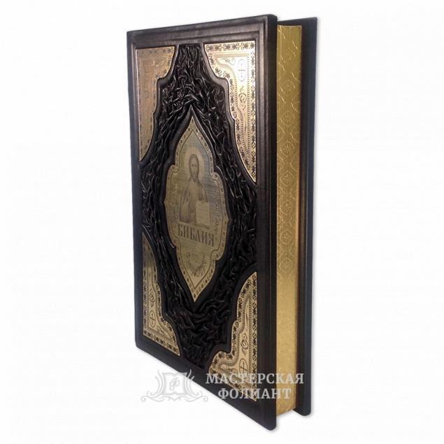 Библия Доре с трехсторонним золотым обрезом