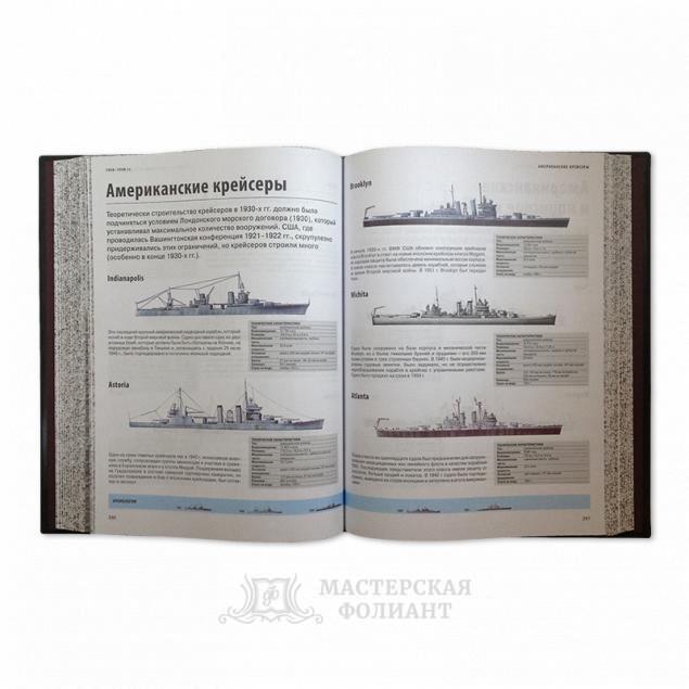 """Подарочная книга """"Корабли"""" с иллюстрациями"""