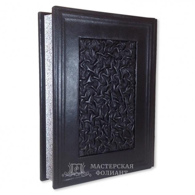 Подарочная книга «Русские полководцы», вид сзади