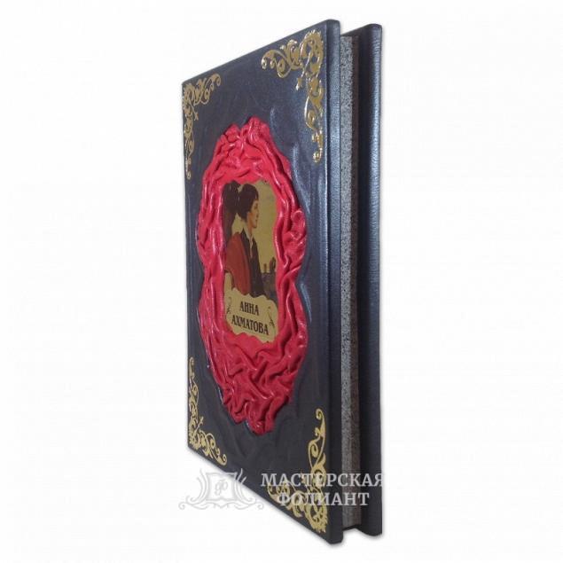 Подарочное издание Ахматова «Неповторимые слова» с художественным обрезом