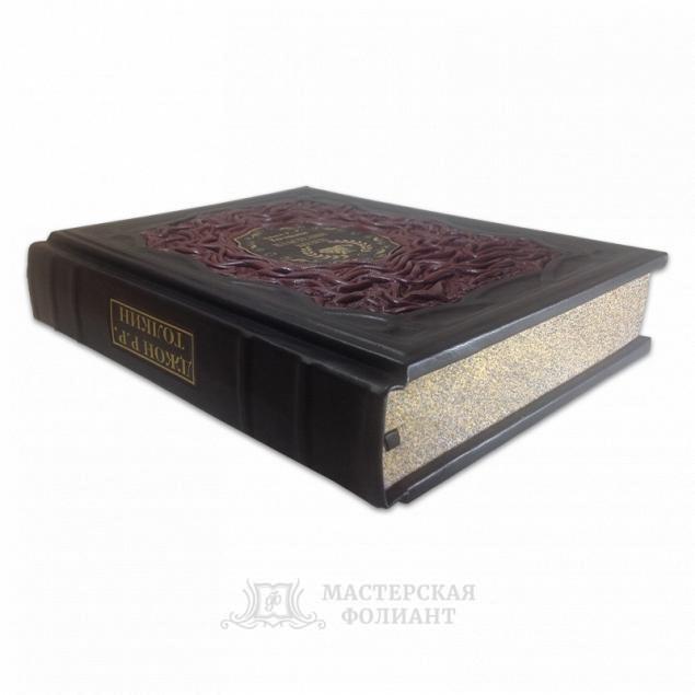 Толкин Джон Рональд Руэл: Властелин Колец. Кожаный переплет ручной работы