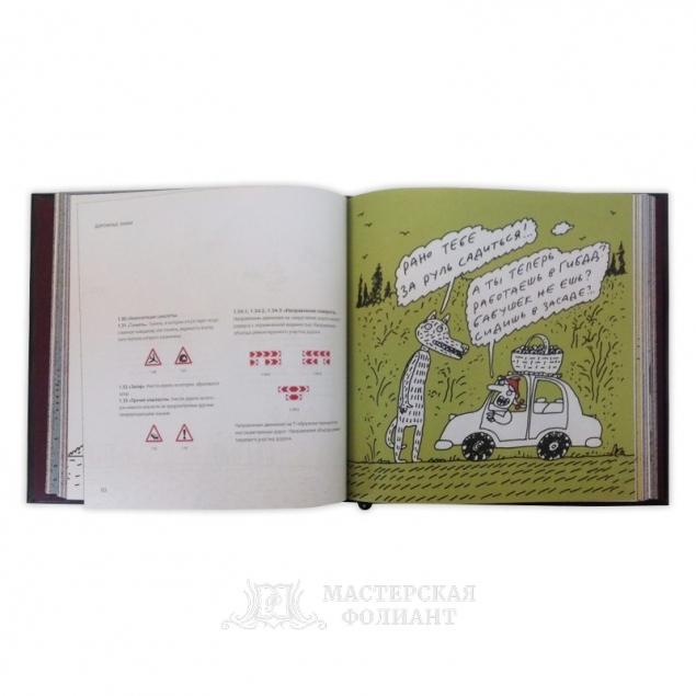 Правила дорожного движения Российской Федерации. Иллюстрации А. Бильжо