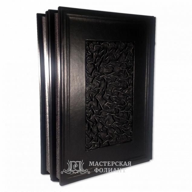 Редкое подарочное издание «Военная контрразведка» в кожаном переплете ручной работы